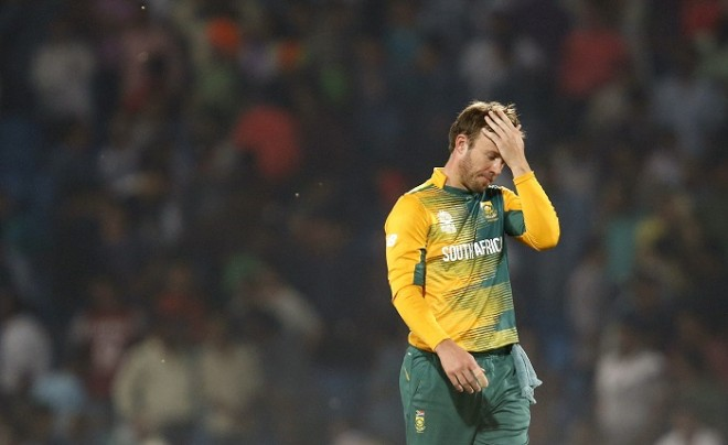 AB De Villiers South Africa World T20 2016