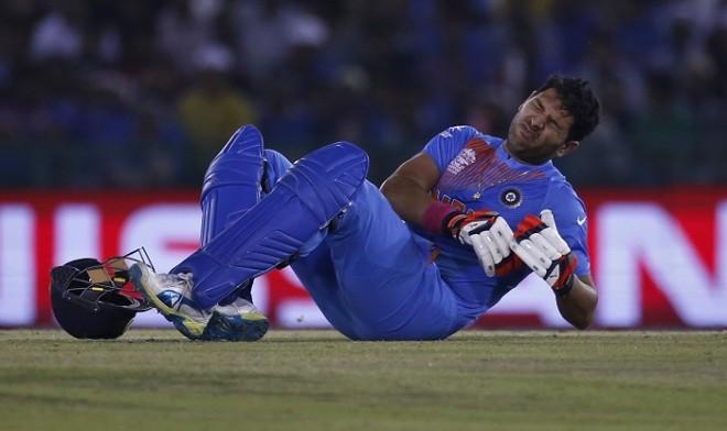 Yuvraj Singh India World T20 2016