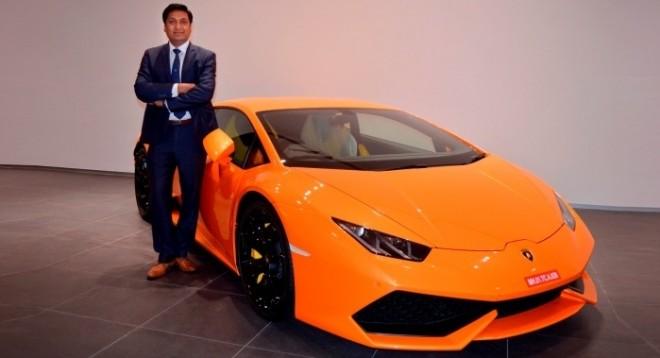 Sharad Agarwal, head of Lamborghini India