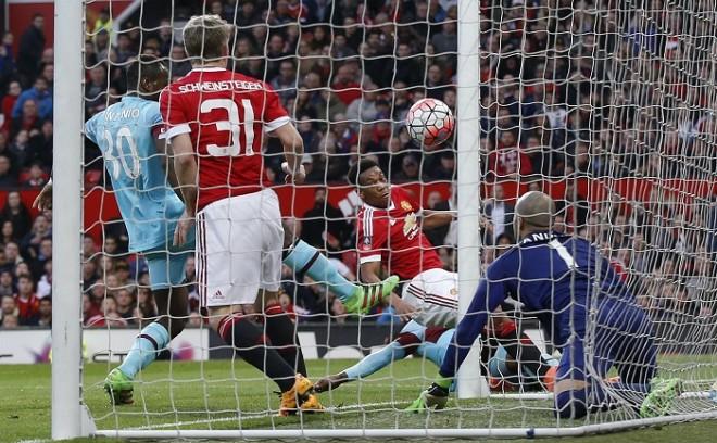 Anthony Martial Manchester United West Ham