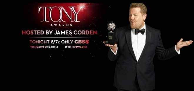 Jamees Corden is the host of Tony Awards 2016