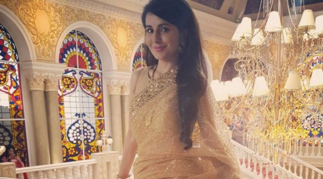 Television actress Roop Durgapal got married secretly. Pictured: Roop Durgapal