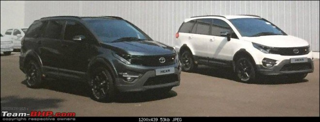 Tata Hexa spotted completely undisguised ahead of launch