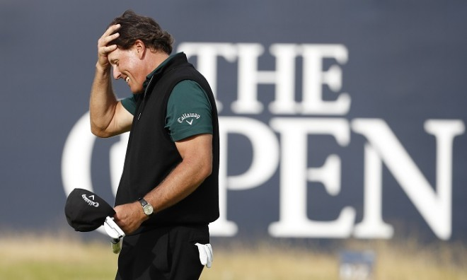 Phil Mickelson The Open 2016