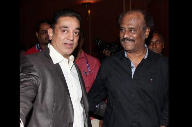 Kamal Haasan and Rajinikanth