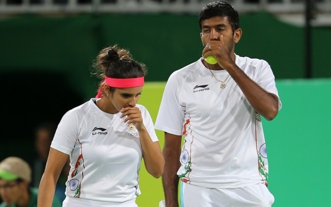Sania Mirza Rohan Bopanna Rio Olympics