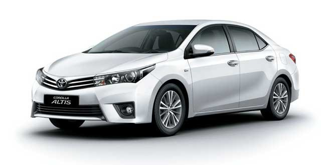 Toyota Corolla Altis gets benefit of up to Rs. 40,000