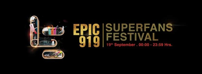 LeEco Epic 919 SuperFans festival kicks off at midnight on Sept. 19