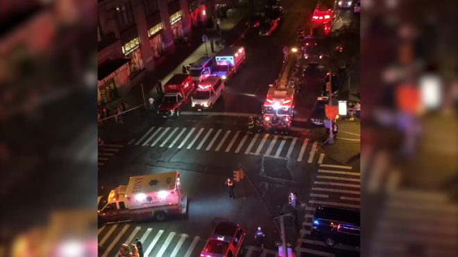 NYC explosion: At least 29 injured after dumpster explosion in Chelsea