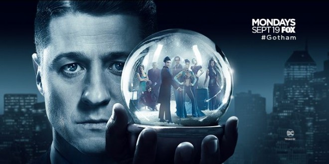Gotham Season 3 premieres on Monday, 19 September