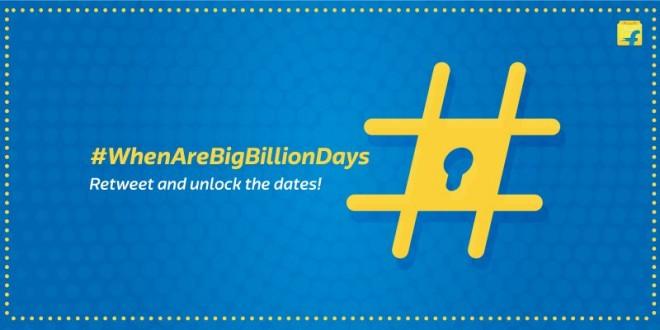 Flipkart Big Billion Day 2016 dates revealed