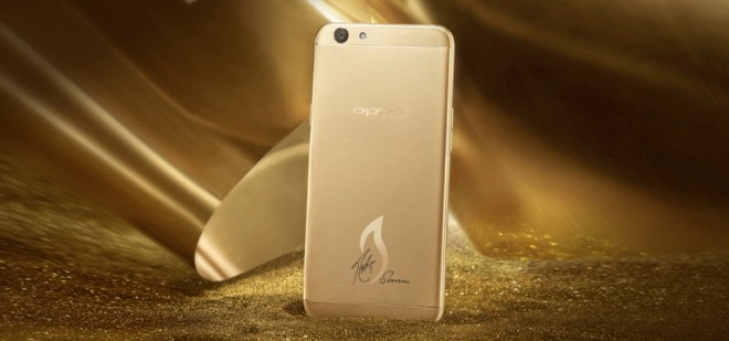 Oppo F1s Limited Edition 18K Gold plated