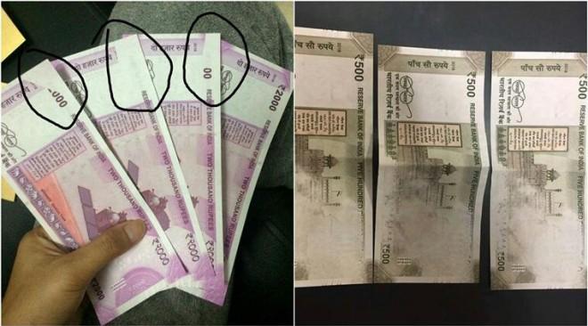 Misprinted Currency