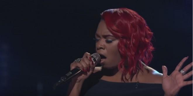 "Ali Caldwell performing ""Sledgehammer"" by Rihanna"