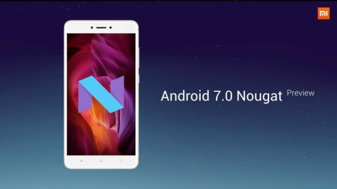 Xiaomi Redmi Note 4 Android Nougat