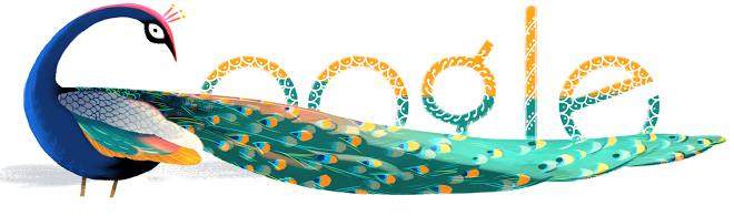 Google Doodle of Independence Day 2012