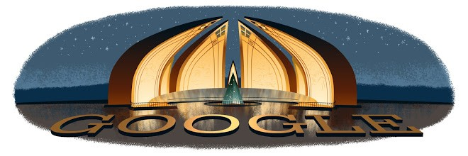 Google Doodle of Pakistan's Independence Day