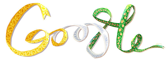 Google Doodle of Independence Day 2013