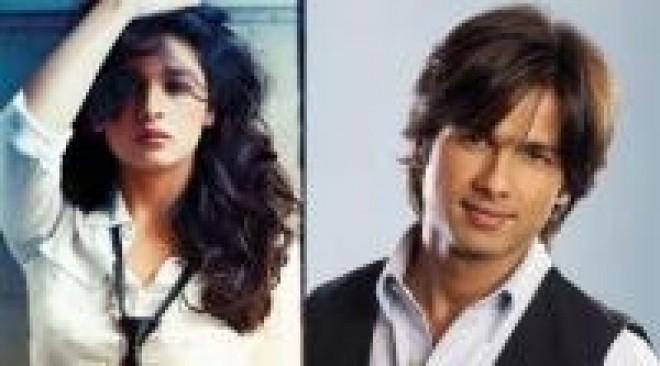 Alia Bhatt Expresses Desire To Work With Shahid Kapoor!