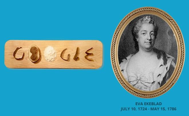 Google Doodle, Eva Ekeblad, Potato, Google,