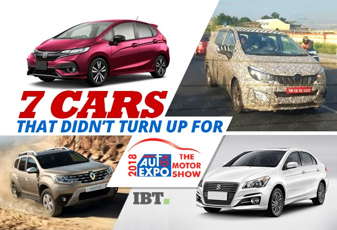 Cars that didn't turn up for Auto Expo 2018