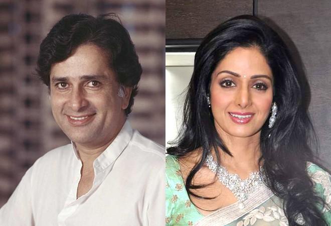 Sridevi and Shashi Kapoor