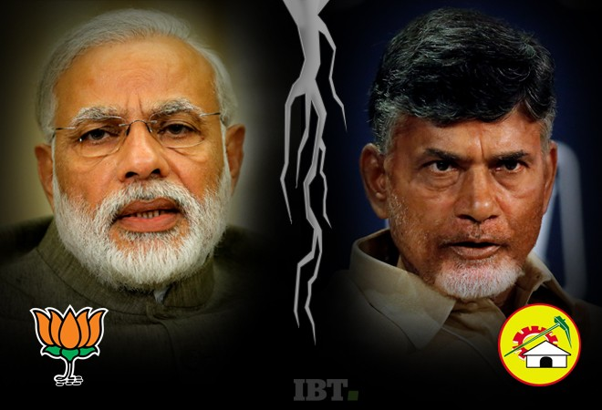 Narendra Modi and Chandrababu Naidu