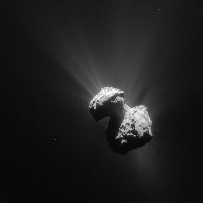 Comet 67P, oxygen, space, discovery,