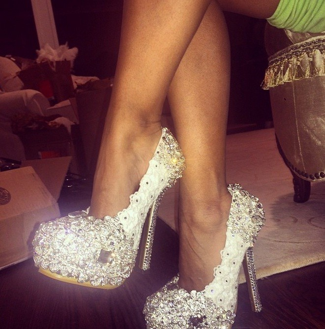 snooki's wedding shoes