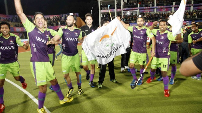 Hockey India League Champions