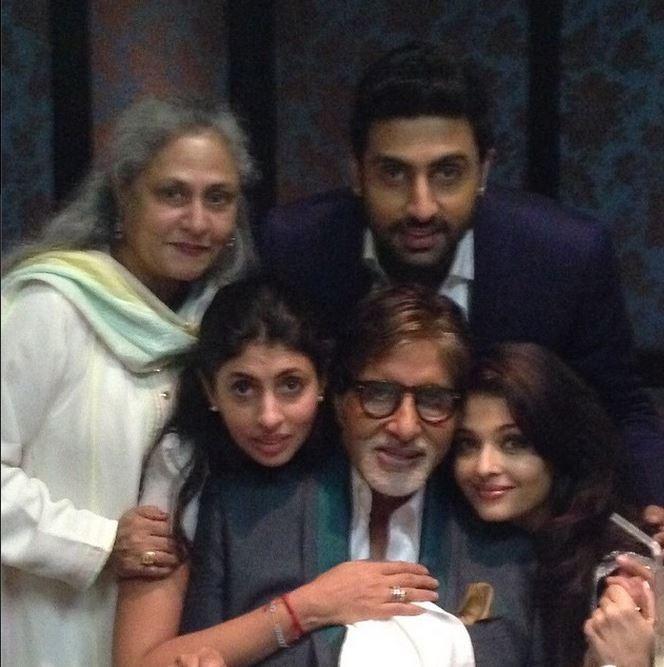 Bachchans Selfie