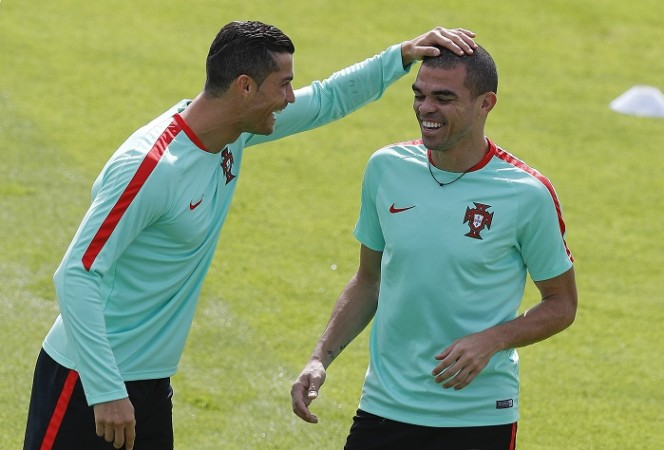 Cristiano Ronaldo Pepe Portugal