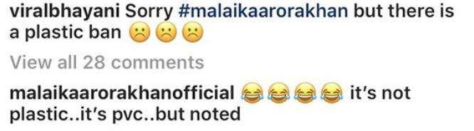 Malaika Arora's reply to her trolls