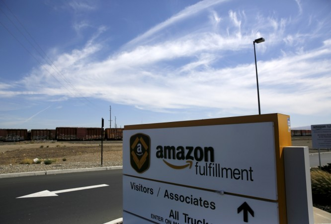 Amazon global delivery centre