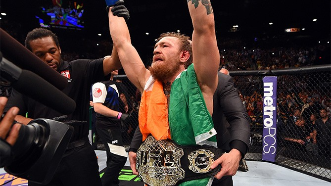 McGregor UFC 189