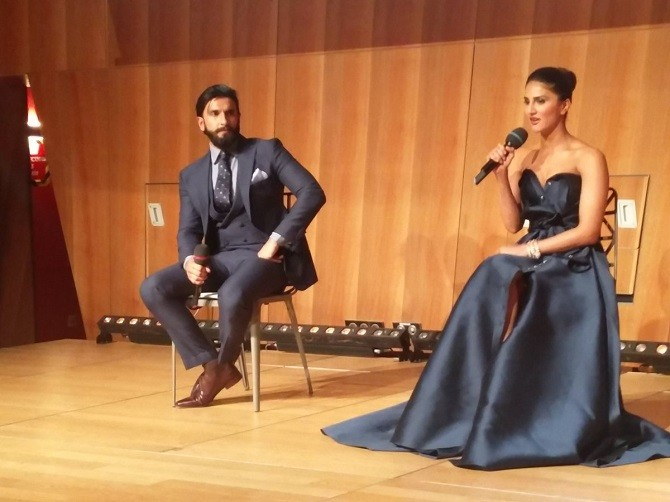 Ranveer Singh,Vaani Kapoor,Befikre,Befikre Trailer,Befikre Trailer Launch,Befikre Trailer Launch pics,Befikre Trailer Launch images,befikre trailer launch in Eiffel Tower,Befikre Trailer Launch stills,Befikre Trailer Launch pictures