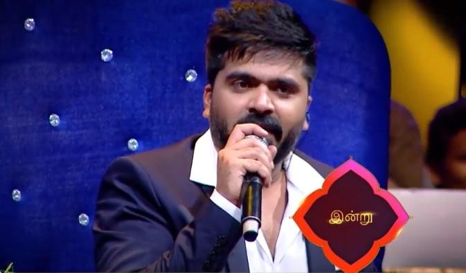 Simbu on Vijay TV's Super Singer 6