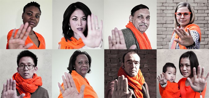 On International Day for the Elimination of Violence against Women, UN has launched 'Orange your Neighborhood' campaign for 16 days.