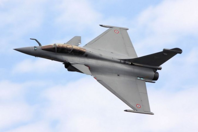 French Dassault Fight- Rafale