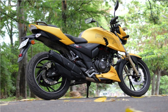 TVS Apache RTR 200 4V with FI, ABS versions start reaching