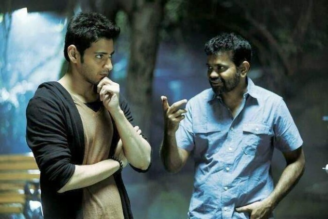 Mahesh Babu with Sukumar on 1: Nenokkadine set