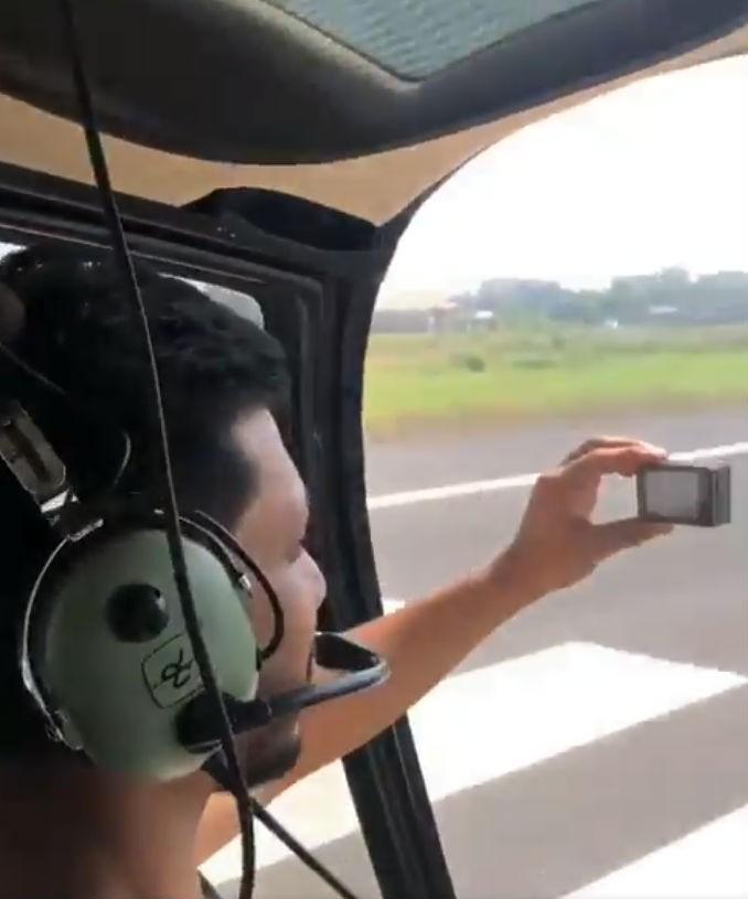 Rakul Preet,rakul preet singh,actress Rakul Preet,Rakul Preet chopper ride,Rakul Preet chopper ride pics,Rakul Preet chopper ride video