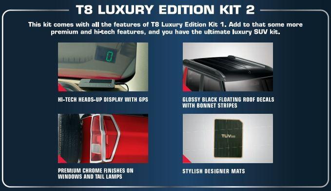 Mahindra TUV300 Luxury kit 2