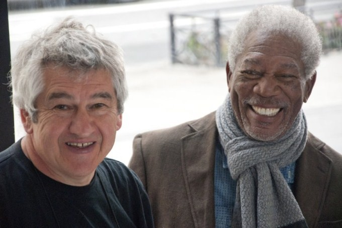 Morgan Freeman And Richard Loncraine