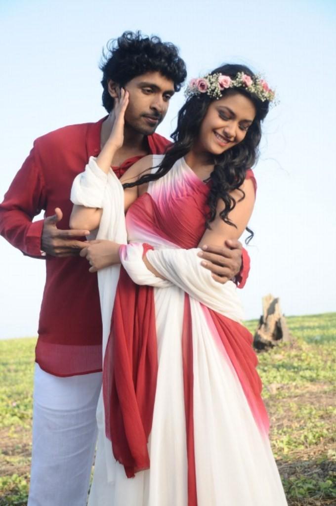 Idhu Enna Mayam,tamil movie Idhu Enna Mayam,Vikram Prabhu,Keerthi Suresh,Idhu Enna Mayam movie stills,Idhu Enna Mayam movie pics,Idhu Enna Mayam movie images,A.L.Vijay movie