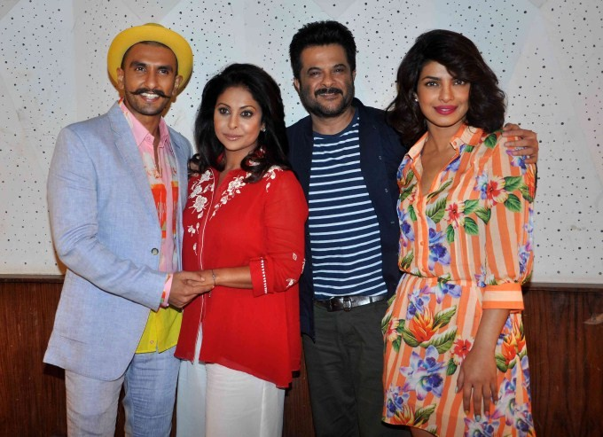 Dil Dhadakne Do Press Meet,Dil Dhadakne Do,bollywood movie Dil Dhadakne Do,Dil Dhadakne Do Media Meet,Ranveer Singh,Priyanka Chopra,Anil Kapoor,Shifaali Shah,Dil Dhadakne Do event,Dil Dhadakne Do movie promotion