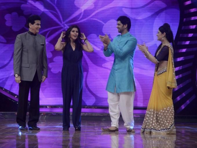 Nach Baliye,Nach Baliye 7,nach baliye 7 contestants list,reality show,dance show,Star Plus,nach baliye cast,nach baliye song,Nach Baliye Season 7,Preity Zinta,Ekta Kapoor,Nach Baliye  on the sets,nach baliye 7 contestants names