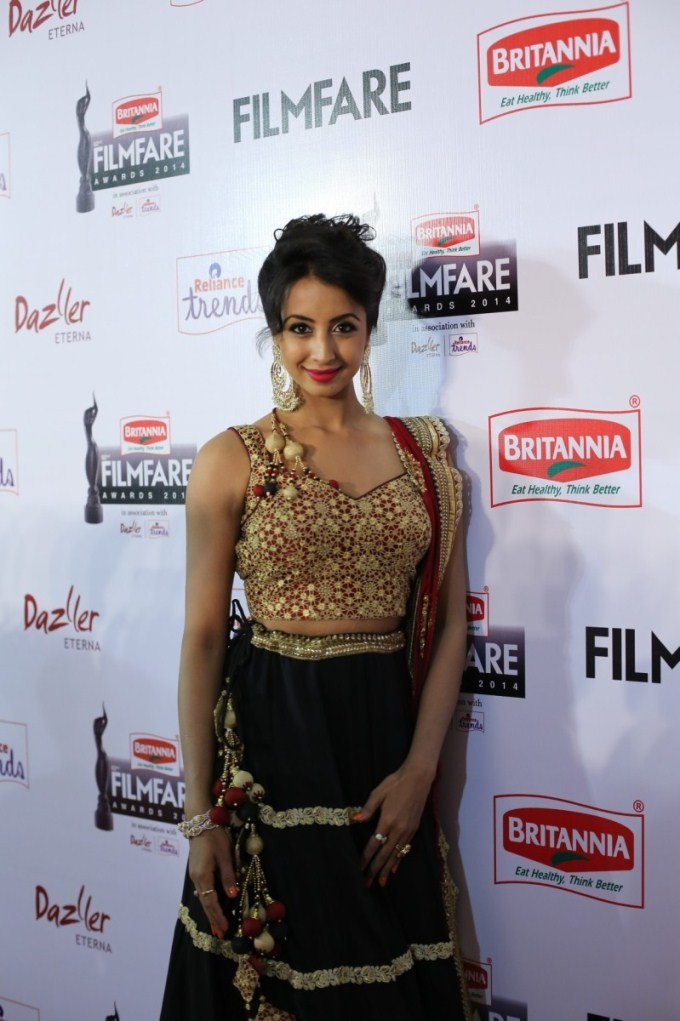Sanjjanaa,actress Sanjjanaa,Sanjjanaa at 62nd Filmfare Awards,Sanjjanaa Galrani,62nd Filmfare Awards,Filmfare Awards,Filmfare Awards 2015,Filmfare Awards pics,Filmfare Awards images,Filmfare Awards photos,Filmfare Awards  stills
