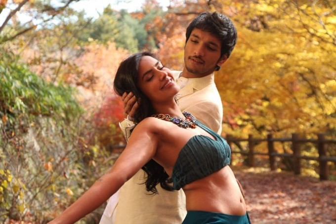 Gautham Karthik and Priya Anand stills from Vai Raja Vai Movie