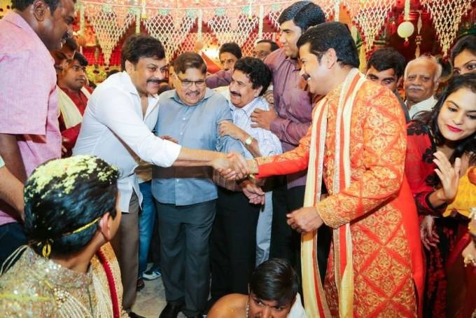 Revanth Reddy Daughter Wedding,Revanth Reddy Daughter marriage,Chiranjeevi,Chandrababu Naidu,Jr Ntr's father Hari Krishna,Meka Srikanth,Hari Krishna,Jagapathi Babu